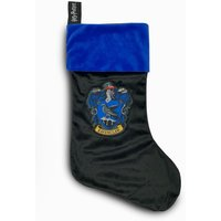 Ravenclaw Harry Potter Fleece Christmas Stocking Woven Badge  47x30cm