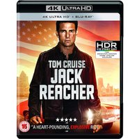 Jack Reacher 4K UHD Blu-ray Region Free