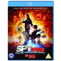 Spy Kids 4 All The Time In The World Blu Ray 3D Blu-Ray