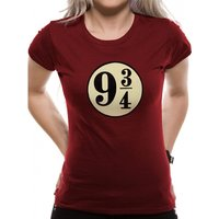 Harry Potter - Platform 9 3/4s Women's XX-Large T-Shirt - Red