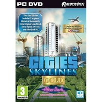 Cities Skylines Gold After Dark PC Game