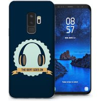 CASEFLEX SAMSUNG GALAXY S9 PLUS THE BEAT GOES ON - BLUE CASE / COVER (3D)