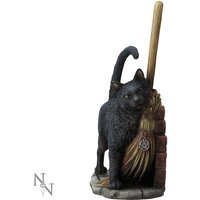 A Brush with Magick Cat Statue