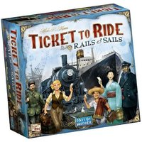 Ticket To Ride Rails + Sails Board Game
