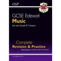 New GCSE Music Edexcel Complete Revision & Practice (with Audio CD) - For the Grade 9-1 Course by CGP Books (Paperback,...