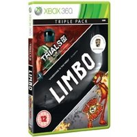 Xbox Live Hits Collection Limbo Trials HD and Splosion Man Game