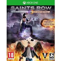 Saints Row IV Re-elected And Gat Out of Hell Xbox ONE Game