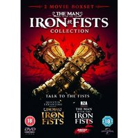 The Man With The Iron Fists 1 & 2 DVD