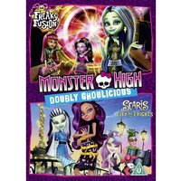 Monster High: Doubly Ghoulicious DVD