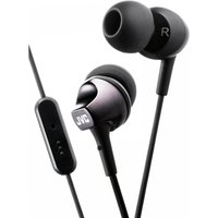 JVC HAFR325B Premium Sound In Ear Headphones with Remote & Mic Black