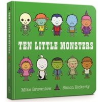 Ten Little Monsters : Board Book