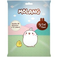 Molang PU Squishy 3D Keychains (24 packs)