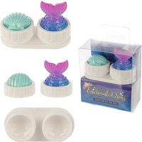 Mermaid Design Handy Contact Lens Case