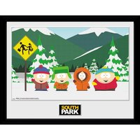 South Park Group Collector Print