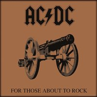 AC/DC - For Those About To Rock 12 Inch Album Cover Framed Print