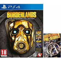Borderlands The Handsome Collection PS4 Game + Pin Badge
