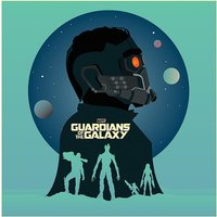 Guardians Of The Galaxy - Silhouettes Canvas