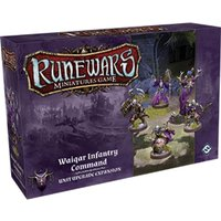 Runewars Miniatures Game Waiqar Infantry Command Expansion Pack