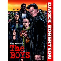 The Art of The Boys The Complete Covers by Darick Robertson Hardcover