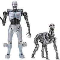 EndoCop and Terminator Dog (Robocop Vs the Terminator) Neca 7 Inch Action Figure 2 Pack