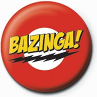 The Big Bang Theory - Bazinga Badge