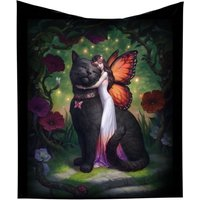 Cat and Fairy Throw