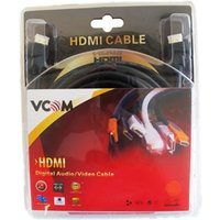 VCOM HDMI 1.4 (M) to HDMI 1.4 (M) 1.8m Black Retail Packaged Display Cable