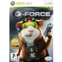 Disney G-Force Game Includes 3D Glasses