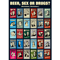 Retro Spoofs Collage Maxi Poster