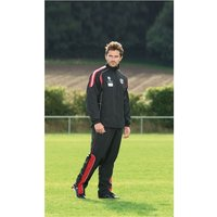 PT Ultimate Tracksuit Jacket Black/Red/Silver 34-36