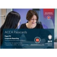 ACCA P2 Corporate Reporting (International) : Passcards