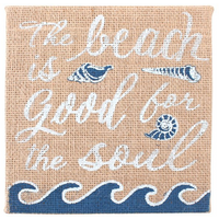 Hessian Beach/Soul Plaque
