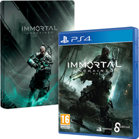 Immortal Unchained PS4 Game + Steelbook