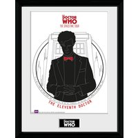 Doctor Who Spacetime Tour 11th Doctor Framed Collector Print