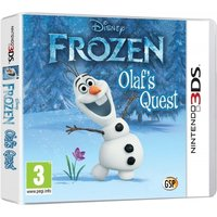 Ex-Display Disney Frozen Olafs Quest Game 3DS