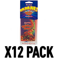 Rainbow Drops Cherry (Pack Of 12) Retro Scents Air Freshener
