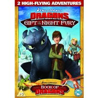 Dreamworks Dragons Gift Of The Night Fury DVD