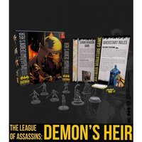 Batman Miniature Game The League of Assassins: Demon's Heir Bat-Box Board Game