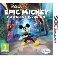 Disney Epic Mickey 2 Power of Illusion Game 3DS