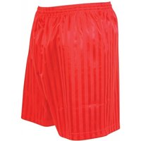 Precision Striped Continental Football Shorts 42-44 inch Red