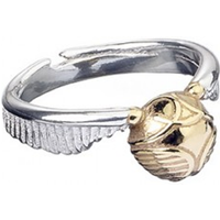Stainless Steel Golden Snitch Ring (Small)