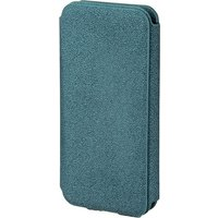 Diary Mobile Phone Window Case for Apple iPhone 5/5s Petrol