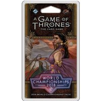 A Game of Thrones LCG 2nd Edition 2018 Joust World Championship Deck
