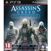Assassin's Creed Heritage Collection (Includes All Five Games) PS3 Game