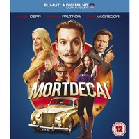 Mortdecai Blu-ray UV Copy