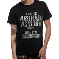 Batman Arkham Asylum - Inmate Men's Large T-Shirt - Black