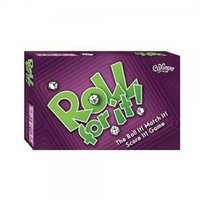Roll for It! Purple Edition Board Game