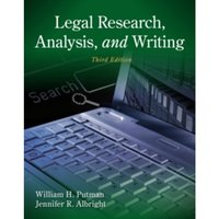 Legal Research, Analysis, and Writing by Jennifer Albright, William H. Putman (Paperback, 2012)