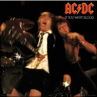 AC/DC - If You Want Blood 12 Inch Album Cover Framed Print