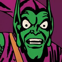 Marvel Comics - Green Goblin Close-Up Canvas
